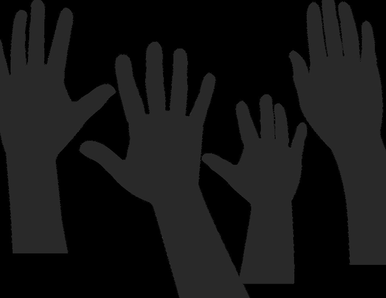 手を挙げて発言した学生にポイントを与える。