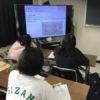 学生の発表(前言語期とシラバス)