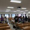 学生の発表(教室運営、英語の歌、英語の発音)